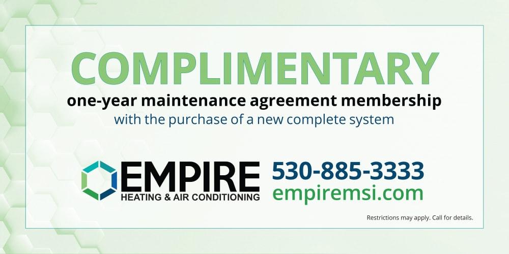 maintenance agreement coupon