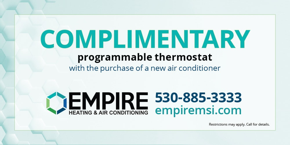 complimentary thermostat empire coupon