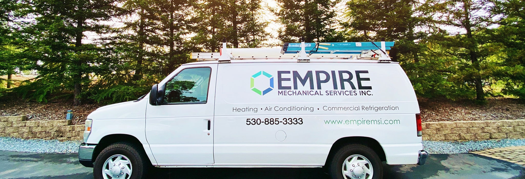 Empire service van